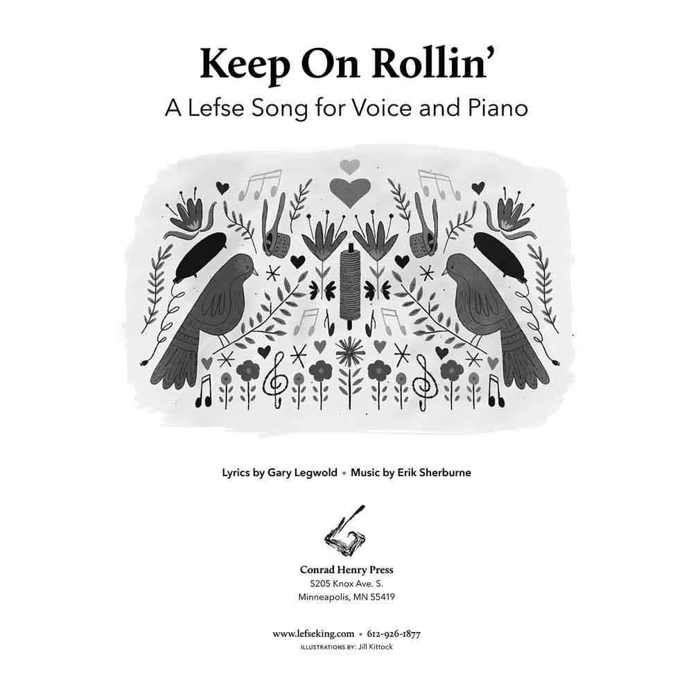 Keep On Rollin' Music Cover Sheet