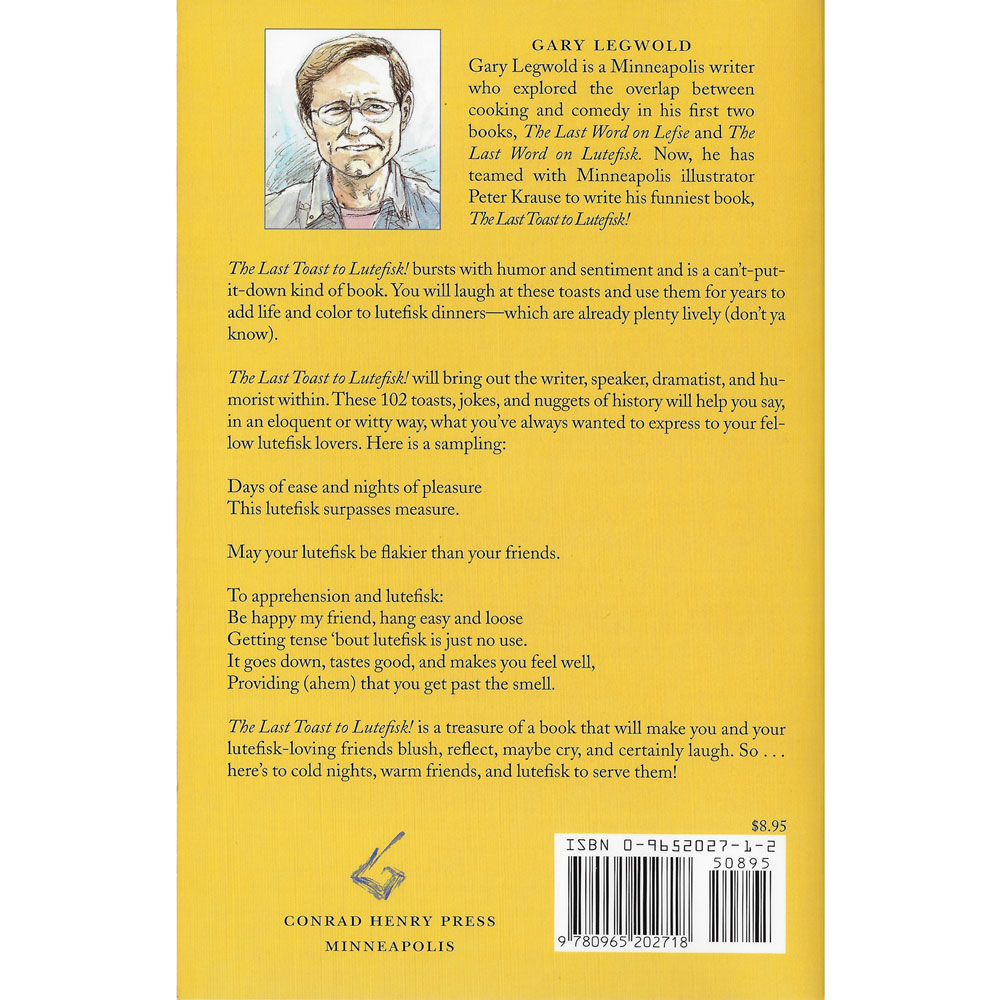 The Last Toast to Lutefisk Rear Cover Image