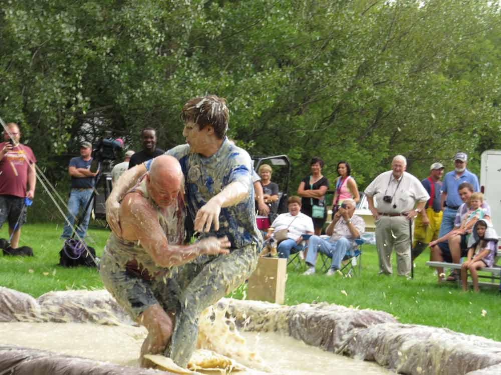 Mashed Potato Wrestling