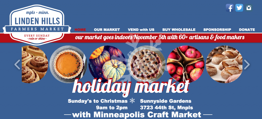 Iu0027m All In Selling Books And Doing A Lefse Demo At The Linden Hills Holiday  Market In Minneapolis.