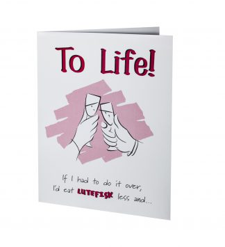 Lutefisk Greeting Cards