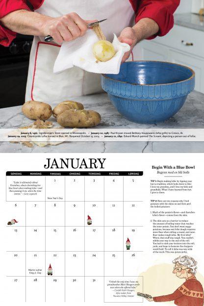 Lefse Calendar