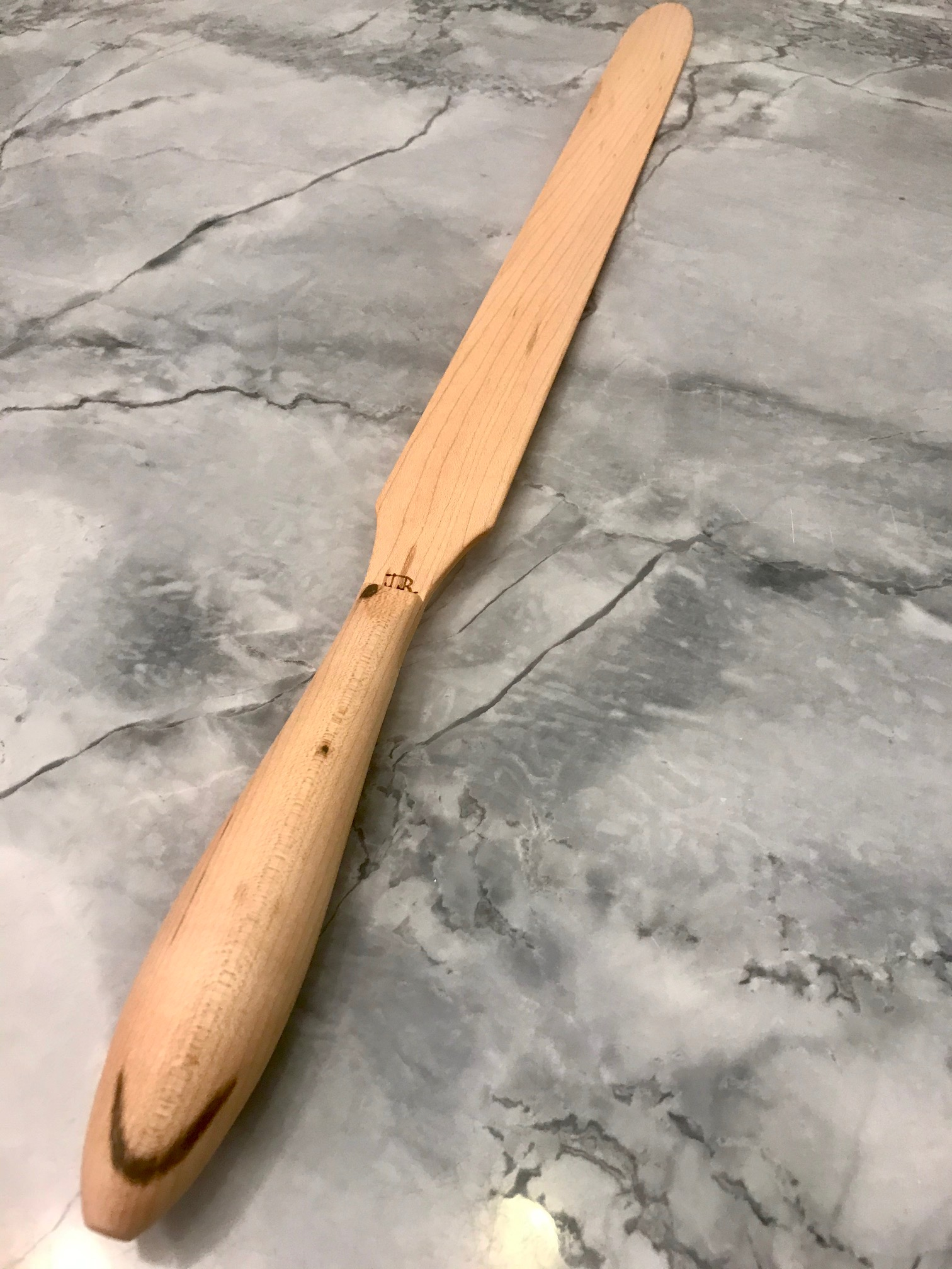 Best Handle Ever Lefse Stick Maple Handle Lefse King